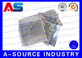 China Scratch Off Security Sticker With Serial Number supplier
