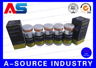 China Custom Adhesive 10ml Vial Label supplier