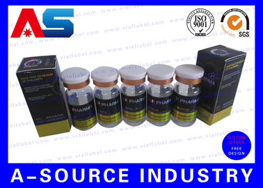China Laser Custom Hologram Vial Label Printer 2ml / 5ml / 10ml / 15ml / 20ml Vial supplier