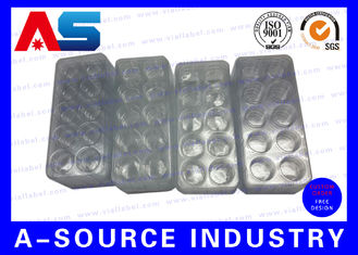 China Medicine Plastic Blister Packaging To Install 2ml Vials Matching Hgh Boxes supplier
