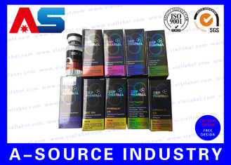 China Pharmaceutical Hologram Small Shipping 10ml Vial Boxes with CMYK colors supplier