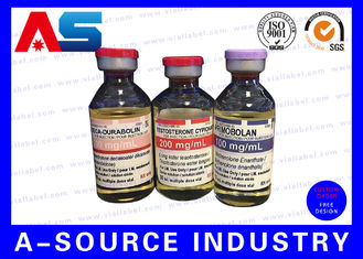 China Pharmaceutical Glass Bottle Labels Product Label Printing Custom Design SGS , ISO 9001 supplier