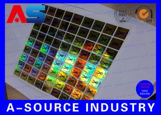 China PET Custom Holographic Stickers /  Custom Decal Stickers With Scratch Off Code supplier