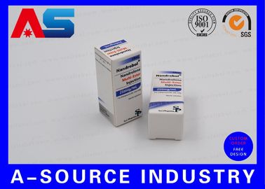 China Anabolic Steroids Pharmabox Printing For 10ml vials With Embossed Logo Matt Printing SP Pharma Design supplier