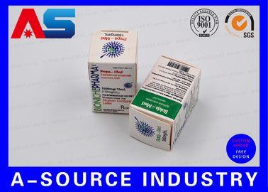 China Medical Science Carton Box 10ml Vial Boxes CMYK Regular Printing Glossy Box supplier