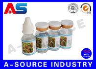 China Custom Waterproof e Liquid Bottle Labels , Hologram e Juice Bottle Labels Design factory