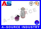 China Grey Rubber Sterile Injection 2ml Glass Vials With Corks For Steroids factory