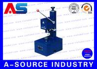 China Black Stand Manual Vial Crimper Cap Sealer Machine 380v / 220v factory