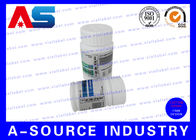 China Pill Bottle Custom Adhesive Labels / Steriod Bottle Labeling For 50ml Jars factory