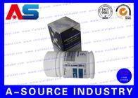China Custom Pill Bottle Label , 30cc / 50ml / 100ml Plastic Bottle Cardboard Labels Tags factory