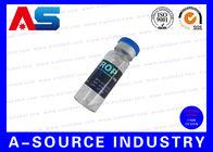 China Medicine Steroid Bottle Labels , Sterile Glass Vials Label Sticker factory
