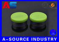China 20# Green Flip Off Vial Caps Plastic Tops 135 Degree Centigrade For Sterilized Vials factory