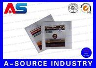 China Pill Packing Ziplock Aluminum Foil Bags Glossy Laminated Aluminium Foil Bag factory