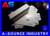 China Medicine Somatropin Pharmaceutical Packaging Box Anti - Fake Printing Paper Pill Box factory