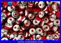 China White Color Aluminum Plastic Cap , 10mL Chemistry Aluminium Bottle Caps factory