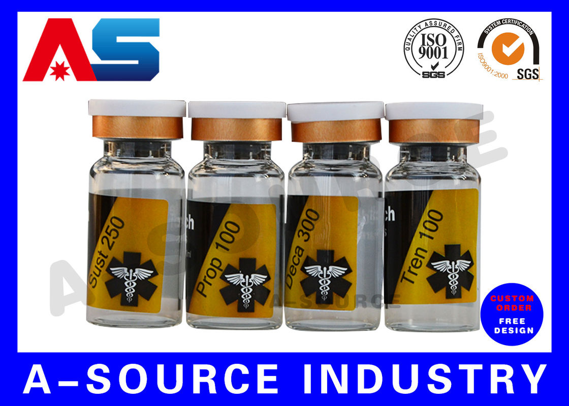 Pharmaceutical Lab Test Solution Custom Private Label Water Bottle
