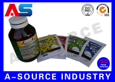 China Printed Vitamin Custom Private Label Waterproof High Quality Printing distributor