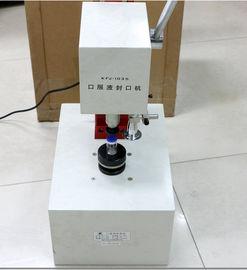 China 50hz Manual Vial Crimper 20mm Vial Cap Crimper Stable Performance distributor
