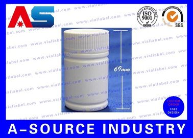 China Medicine 50ml Plastic Pill Bottles 69mm Tall 38mm Wide Plastic Pill Containers distributor