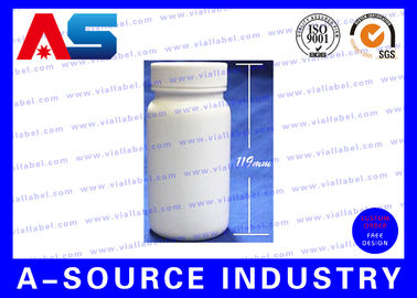 China 200ml HDPE Medical Pill Container Empty Pill Bottles / Vitamin Pill Bottle distributor