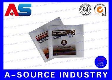 China Pill Packing Ziplock Aluminum Foil Bags Glossy Laminated Aluminium Foil Bag distributor