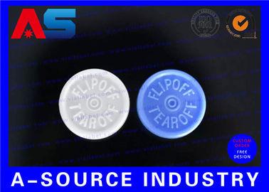 China Pharmaceutical 10ml Bottle Flip Off Caps Engraved Custom Logo Flip Top Cap distributor