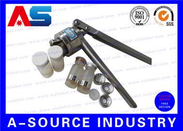 China Silver Aluminum Manual Vial Cap Crimper Crimping Tool For 20mm Flip Off Plastic Cap distributor
