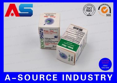 China Medical Science Carton Box 10ml Vial Boxes CMYK Regular Printing Glossy Box distributor