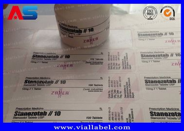China Plastic Prescription Pill Bottle Label For 30ml Jars ISO SGS ROHS distributor