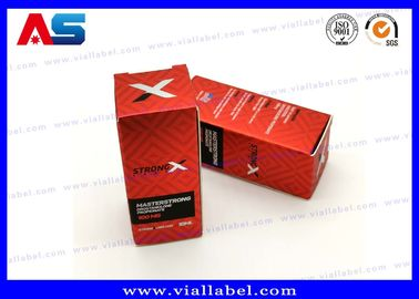 China Matt Lamination Small Packaging Boxes 10ml Vials Injectable Steroids 325g Paper factory