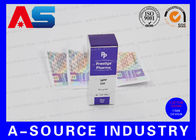 Hologram Adhesive Stickers Label And Box With Custom New Company Name