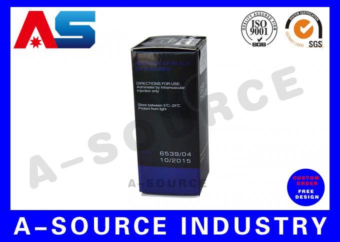Hologram 10ml Vial Boxes Custom Box Printing For Dropper Bottles