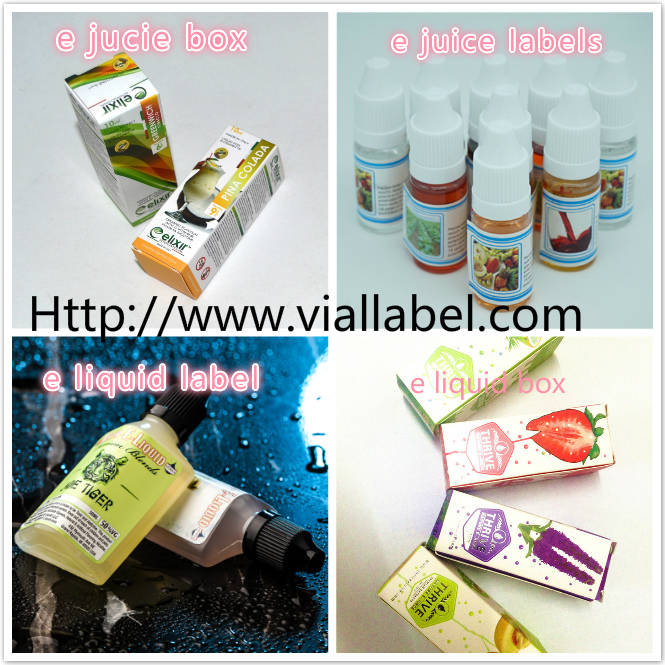 Customized Printed Self Adhesive Labels  , 30ml Bottle Labels Paper / PP/ PET free design