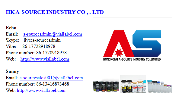 Custom Adhesive 10ml Vial Label