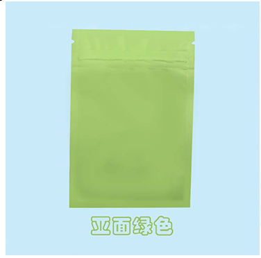 Matt Black Heat Seal Aluminum Foil Bags With Zip Lock / Mylar Sleeves