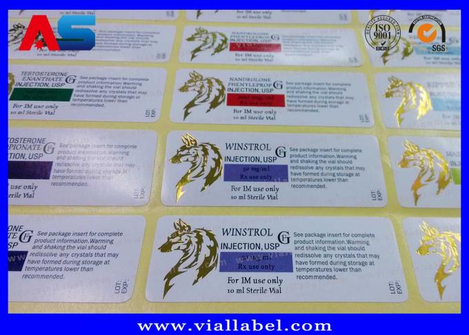 Small Custom Holographic Stickers Label Void Seal For Test